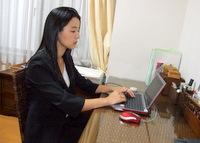 千葉市 社会保険労務士 オフィスPOM うえの社労士事務所の上野由佳先生を取材!! 写真2