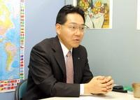 台東区 行政書士 伊藤浩行政書士事務所の伊藤浩先生を取材!!  写真1
