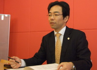 港区 弁護士 虎ノ門パートナーズ法律事務所 中野厚徳先生、幡田宏樹先生を取材!! 写真2