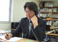 千代田区 税理士 田中智康税理士事務所の田中智康先生を取材!! 写真4