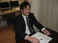 板橋区 税理士 鴻上会計事務所   鴻上和秀先生を取材!! 写真1