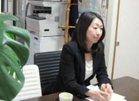 越谷市 行政書士 行政書士田中法務事務所の田中由佳先生を取材!! 写真1