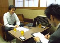 江東区 税理士 ファイナンシャルプランナー 木下裕隆税理士事務所の木下裕隆先生を取材!! 写真
