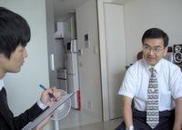 中央区 税理士  高山秀三税理士事務所の高山秀三先生を取材!! 写真