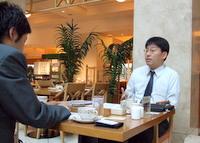 浦安市 税理士 徳重豊一税理士事務所の徳重豊一先生を取材!! 写真