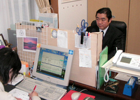 西東京市 税理士 氏家透雄税理士事務所の氏家透雄先生を取材!! 写真