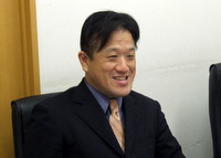 中央区 銀座 中小企業診断士 福島正人先生を取材!! 写真