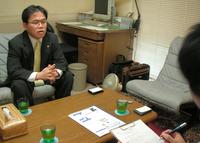 東京都小平市 番場厚夫税理士事務所の番場厚夫先生を取材!! 写真
