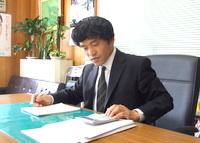 千葉県 木更津市 長谷川税理士事務所の長谷川文男先生を取材!! 写真