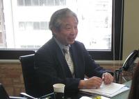 大田区 板垣税務会計事務所の板垣先生を取材!! 写真