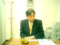 港区赤坂の税理士 岩澤会計事務所の岩澤康雅先生を取材!! 写真