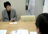 中央区 内藤KT税理士事務所の内藤恭子先生を取材!! 写真