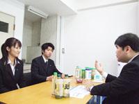 中野区 西尾努司法書士事務所の西尾先生を取材!! 写真