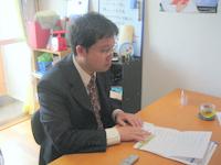 杉並区 さとう行政書士事務所の佐藤正文先生を取材!! 写真