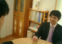 埼玉県さいたま市 【行政書士高橋克則事務所】の高橋先生を取材!! 写真