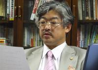 中央区 高下謹壱法律事務所の弁護士 高下謹壱先生を取材!! 写真