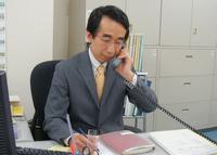 千代田区 公認会計士 税理士 梅川公認会計士・税理士事務所の梅川貢一郎先生を取材!! 写真